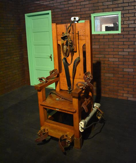 sparky electric chair electrocution penalty