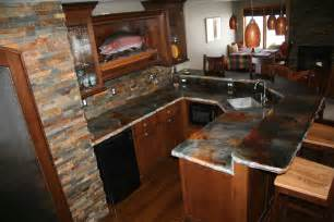 Cement Kitchen Countertops Concrete Countertops Decosee
