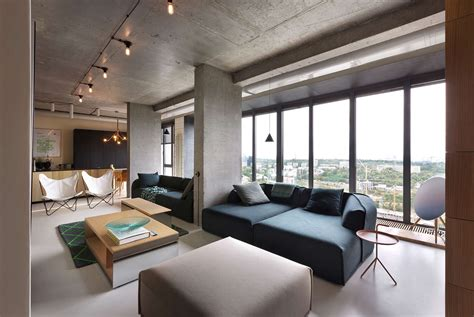 contemporary apartment a quot smart quot penthouse in kiev is the perfect party pad