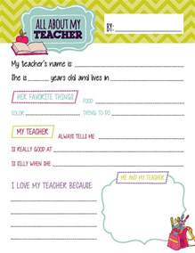All About My Template by All About My Questionnaire Printables