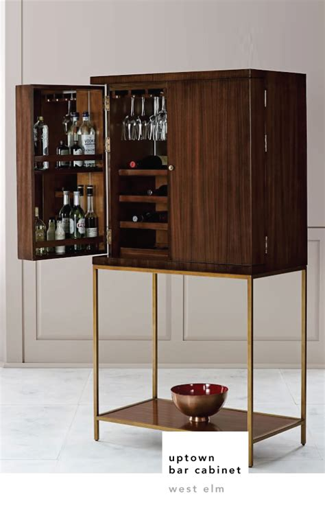 west elm graphic bar cabinet the beauty of bar cabinets design crush