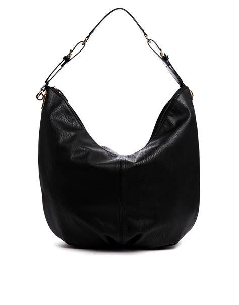 Slouch Bag Hat asos slouch hobo bag in black lyst