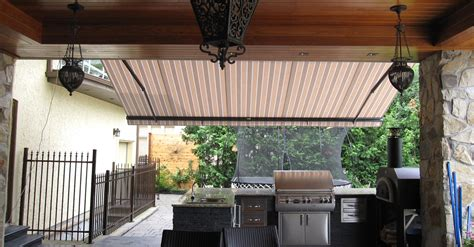 retractable awnings vancouver retractable patio awnings vancouver bc