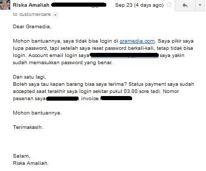 email gramedia review pengalaman berbelanja buku di gramedia com i m