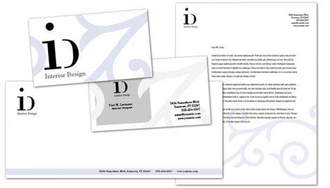 business card template  interior design order custom