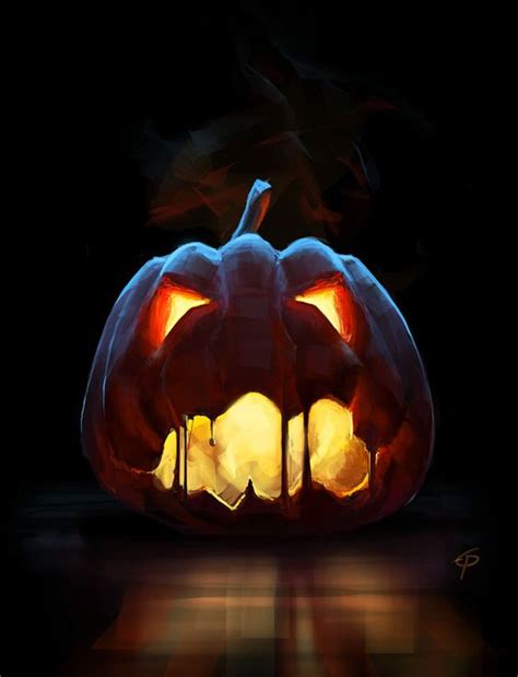 creepy pumpkins all hallows trick or treat witch goblin
