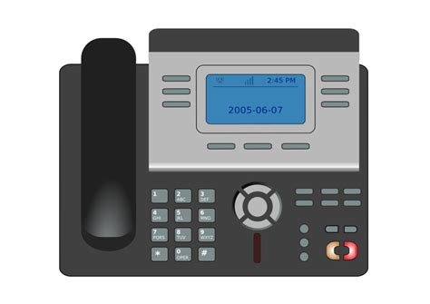 Voip Desk Phone by Free Clipart 1001freedownloads