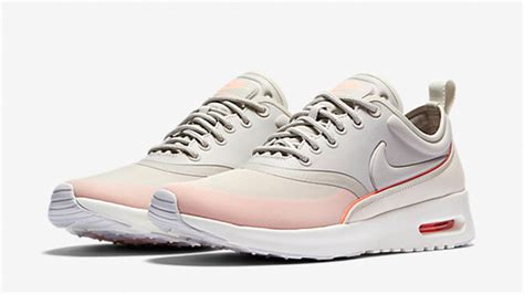 light pink nike air max nike air max thea light pink the sole supplier