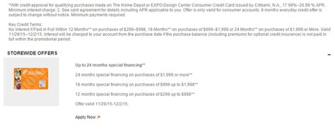 apply for home depot business credit card image