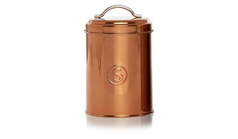 copper kitchen canister sets george home copper canister set kitchen storage george