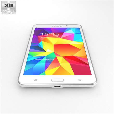 Samsung Galaxy Tab 3 V 7 0 Inch samsung galaxy tab 4 7 0 inch white 3d model hum3d