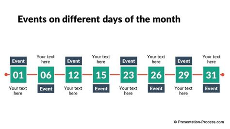 3 month timeline template flat design templates for powerpoint timeline