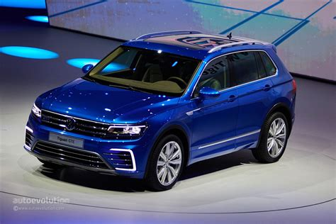 volkswagen tiguan 2016 blue volkswagen tiguan gte concept revealed with 218 ps and 50