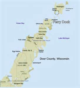 door county travel tips and maps