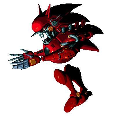 Kaos Bl Metal No 3 image metal sonic jpg villains wiki fandom