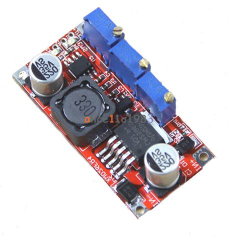 S R Step Powersupply Lm2596 dc dc lm2596 step adjustable cc cv power supply module converter led driver ebay