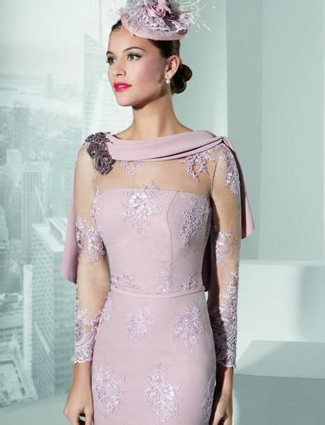 mother of the bride dress with sleeves designer long
