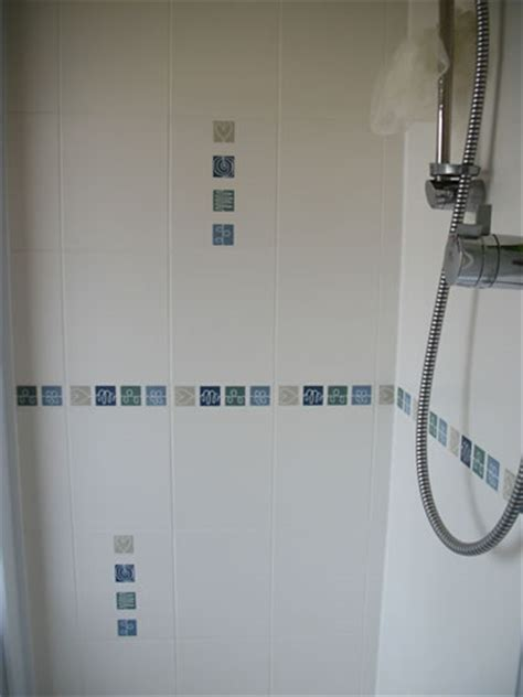 blue border tiles for bathrooms biarritz blue bathroom border tiles modern border bia4164