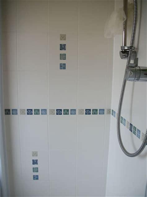 Biarritz Blue Bathroom Decorative Tiles   Modern Decor