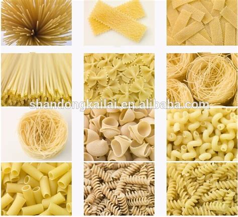 Macaroni Spiral By Macaroni Factory high quality single extruder macaroni pasta