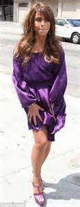 Paula Abdul Wardrobe Malfunction by X Factor Usa Cheryl Cole And Paula Abdul In Purple Begin