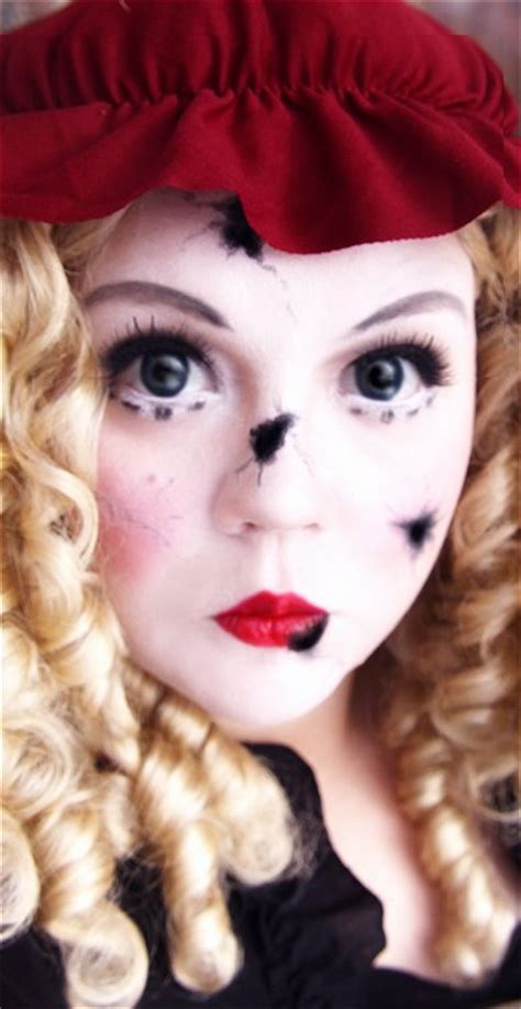 tutorial makeup halloween doll makeup your jangsara tutorial broken doll