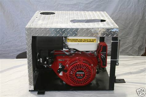 compact portable hydraulic trailer power unit pony motor