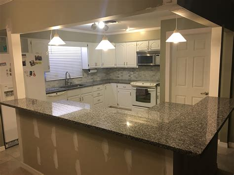 Kitchen Countertops And Backsplash by Caledonia Granite With Backsplash Tiles