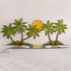 palm tree wall decor product review coconut palm tree oasis metal wall
