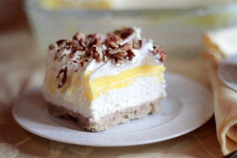 luscious lemon dessert