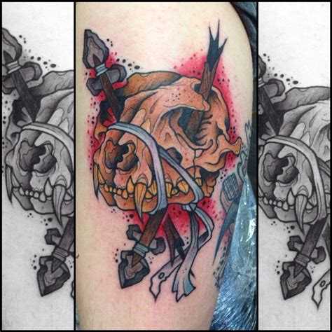 animal skull tattoo skull tattoos askideas