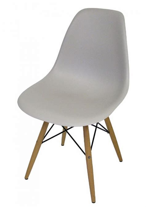 Eames Dowel Leg Chair Replica by Eames Style Molded Dowel Leg Side Chairs Hoopers Modern