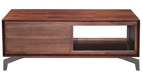 Colville Acacia Wood Coffee Table Chestnut Zuri Furniture Acacia Wood Coffee Table