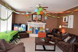 ideas of how to decorate a living room how to decorate living room for birthday party on budget