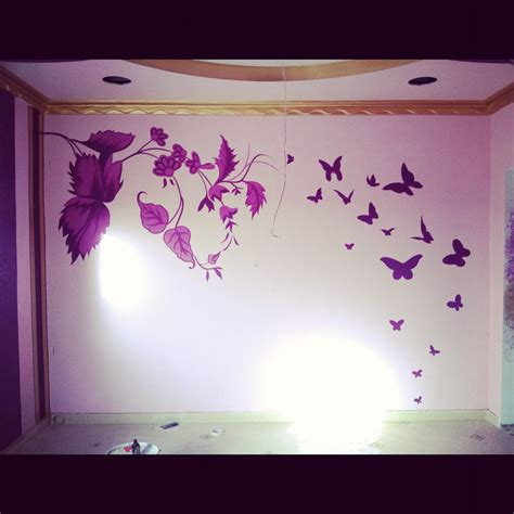 bedroom stencil designs decorations wall design ideas stencil and painted