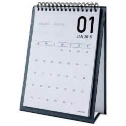 Mini Desk Flip Calendar At A Glance Monthly Desktop Easel Calendar