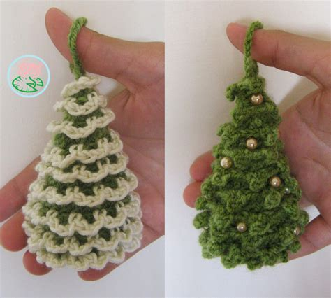 testers needed amigurumi christmas trees ornaments