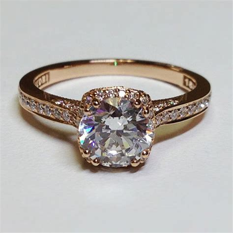 17 best ideas about gold engagement rings on