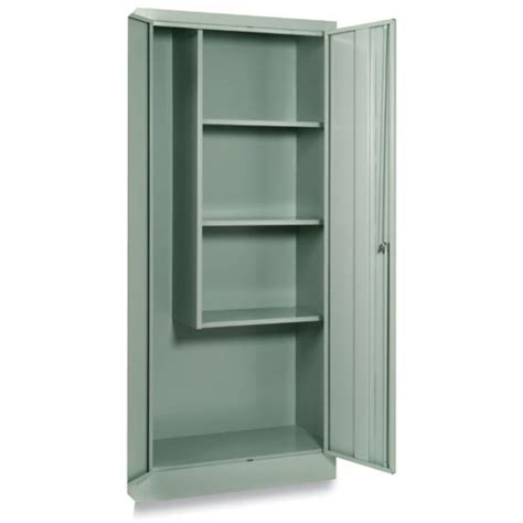 armadietti porta scope armadio porta scope metallo con serratura cm 60x40x176h