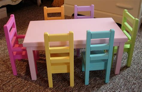 american girl doll chairs and table item details