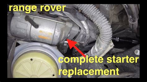 start  clicking noise starter motor replacement