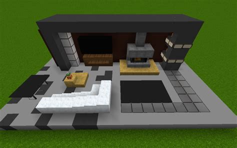 minecraft modern living room minecraft modern living room home design