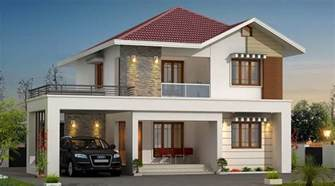 Kerala Home Design Double Floor by 1406 Square Feet Double Floor Contemporary Home Design