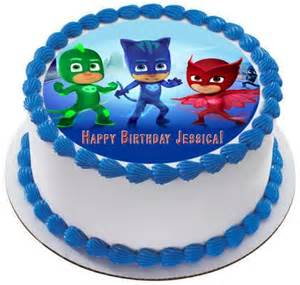 pj masks 1 edible cake topper amp cupcake toppers edible prints cake epoc