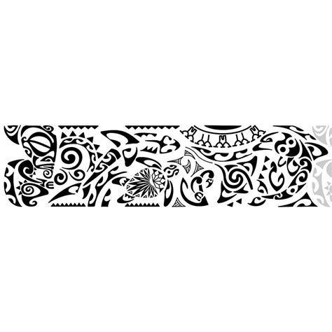 polynesian band tattoo designs bracelete maori kirituhi polinesia tem muito mais