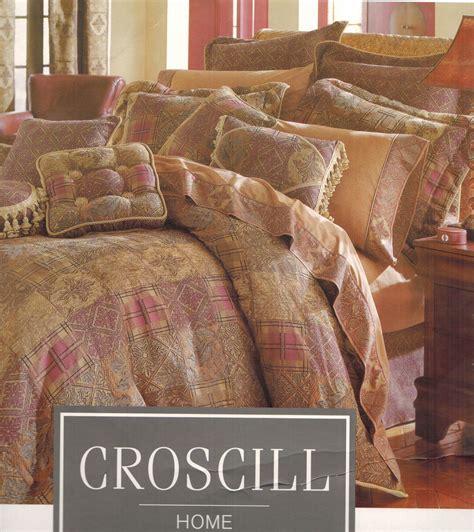croscill king bedding sets bartlett king comforter set croscill out