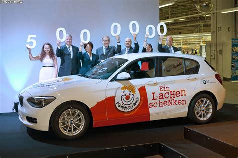 Wo Wird Der Bmw 1er F20 Gebaut by Jubil 228 Um Bmw Werk Regensburg Feiert F 252 Nf Millionen