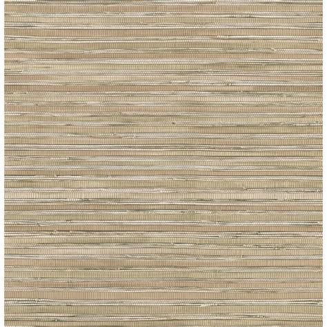faux grasscloth wallpaper home decor brewster 56 sq ft faux grasscloth wallpaper 145 62622