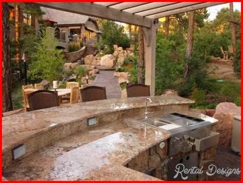 Outdoor Kitchen Ideas On A Budget Outdoor Kitchen Designs On A Budget Rentaldesigns