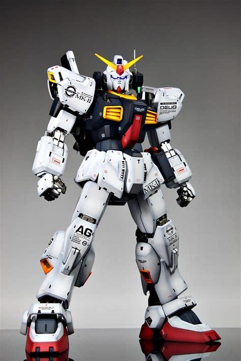 Gundam Mk Ii remodel rx 178 gundam mk ii aeug ver pg 1 60 scale